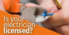 Sparkys NOW - Is your Hallam Test and Tag electrician a licensed professional? Photo